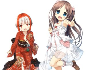 Rating: Safe Score: 41 Tags: cura digital_version dress kimono loli lose monobeno sawai_natsuha see_through sumi_(monobeno) summer_dress User: Twinsenzw