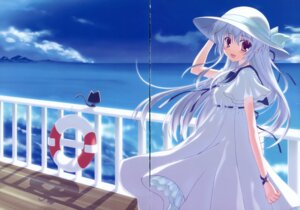 Rating: Safe Score: 11 Tags: dress gap nanao_naru neko poteneko summer_dress User: crim