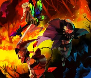 Rating: Safe Score: 9 Tags: fairy ingway kawwa mercedes odin_sphere pointy_ears thighhighs velvet weapon wings User: charunetra