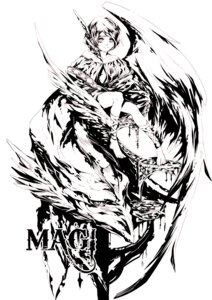 Rating: Safe Score: 9 Tags: garasu magi_the_labyrinth_of_magic monochrome pisti User: charunetra
