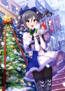 Rating: Safe Score: 63 Tags: animal_ears annin_douhu christmas dress kanzaki_ranko nekomimi pantyhose the_idolm@ster the_idolm@ster_cinderella_girls User: drop