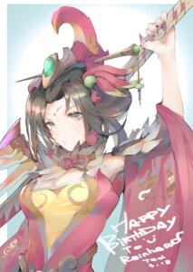 Rating: Safe Score: 12 Tags: cleavage japanese_clothes overwatch sword t_lege_d User: Dreista