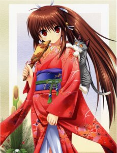 Rating: Safe Score: 36 Tags: key kimono little_busters! na-ga natsume_rin neko User: admin2