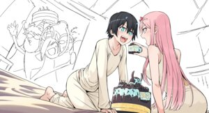 Rating: Safe Score: 9 Tags: chenaze57 darling_in_the_franxx hiro_(darling_in_the_franxx) horns sketch zero_two_(darling_in_the_franxx) User: Spidey