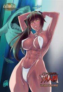 Rating: Questionable Score: 24 Tags: bikini cameltoe cleavage erect_nipples nanashi_no_touhoku_kenjin swimsuits underboob wet User: mash