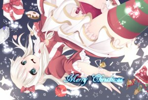 Rating: Questionable Score: 16 Tags: christmas pantsu sakuragi_yuzuki thighhighs User: Riven
