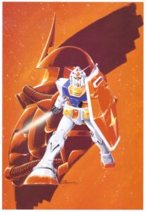Rating: Safe Score: 4 Tags: gundam mecha mobile_suit_gundam okawara_kunio rx-78-2_gundam User: Radioactive