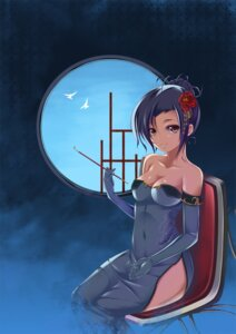 Rating: Questionable Score: 48 Tags: chinadress cleavage iroha_(unyun) nopan User: fireattack
