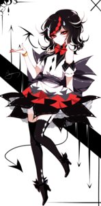 Rating: Safe Score: 20 Tags: heels horns kijin_seija sheya stockings tail thighhighs touhou User: Mr_GT