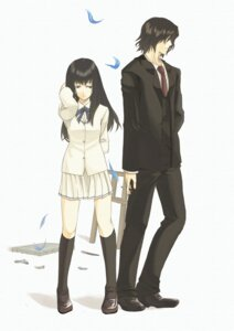 Rating: Safe Score: 12 Tags: kara_no_shoujo kuchiki_touko maou seifuku tokisaka_reiji User: minakomel