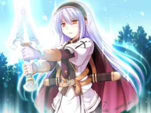 Rating: Safe Score: 20 Tags: chelsea_arcot game_cg ko~cha shukufuku_no_campanella sword windmill User: Radioactive