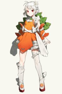Rating: Questionable Score: 21 Tags: dress pointy_ears shibainu tagme thighhighs User: Dreista