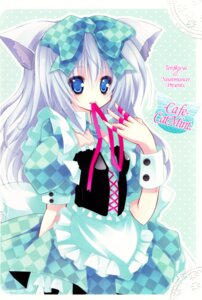 Rating: Safe Score: 18 Tags: animal_ears kannon_ouji lolita_fashion nekomimi neuromancer. tenjikuya User: MirrorMagpie