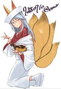 Rating: Safe Score: 4 Tags: animal_ears flint_(girls_und_panzer) girls_und_panzer kimono kitsune tagme tail User: Radioactive