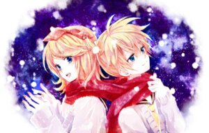 Rating: Safe Score: 13 Tags: kagamine_len kagamine_rin serina vocaloid User: Nekotsúh