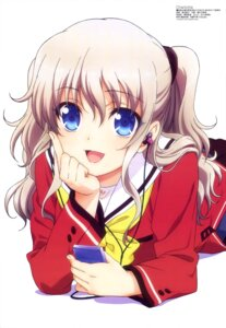 Rating: Safe Score: 59 Tags: charlotte natsuzumi_aiko seifuku tomori_nao User: drop