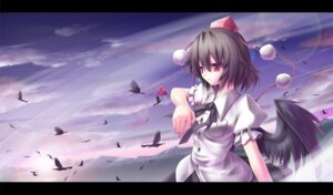 Rating: Safe Score: 5 Tags: shameimaru_aya shou touhou wings User: konstargirl