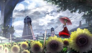 Rating: Safe Score: 29 Tags: kazami_yuuka landscape ryosios touhou umbrella User: Mr_GT