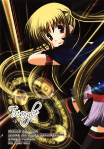 Rating: Safe Score: 6 Tags: banabana entrance fate_testarossa mahou_shoujo_lyrical_nanoha thighhighs User: waha