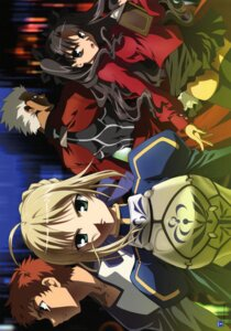 Rating: Safe Score: 6 Tags: archer emiya_shirou fate/stay_night saber toosaka_rin User: Radioactive