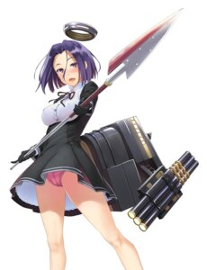 Rating: Questionable Score: 40 Tags: erect_nipples kantai_collection oozora_wakaba pantsu tatsuta_(kancolle) weapon User: Radioactive