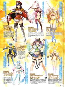 Rating: Questionable Score: 18 Tags: armor cleavage heels no_bra seifuku sin_nanatsu_no_taizai sword thighhighs underboob uniform weapon wings User: drop