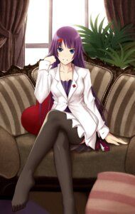 Rating: Safe Score: 63 Tags: bakemonogatari illusionk senjougahara_hitagi thighhighs User: charunetra