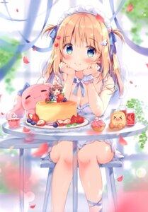 Rating: Safe Score: 60 Tags: chibi cleavage cocoa_(pan_no_mimi) dress pan summer_dress ten_(pan_no_mimi) User: RICO740