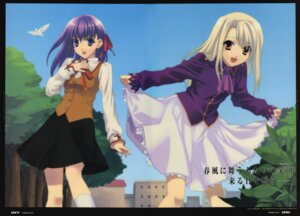 Rating: Safe Score: 19 Tags: fate/stay_night fixme ginka illyasviel_von_einzbern matou_sakura User: petopeto