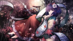 Rating: Safe Score: 33 Tags: asian_clothes hieda_no_akyuu janne_cherry touhou User: charunetra