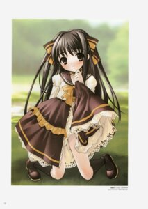 Rating: Safe Score: 11 Tags: dress ito_noizi komorebi_ni_yureru_tama_no_koe skirt_lift sui User: Radioactive