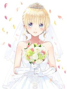 Rating: Safe Score: 35 Tags: dress juliet_persia kishuku_gakkou_no_juliet tagme wedding_dress User: kiyoe