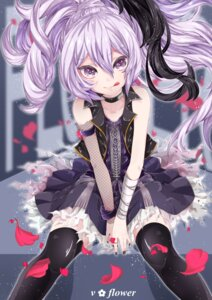 Rating: Safe Score: 56 Tags: dress flower_(vocaloid) r@ito thighhighs vocaloid User: Mr_GT