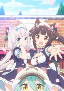 Rating: Safe Score: 34 Tags: animal_ears chocola maid minaduki_kashou neko_works nekomimi nekopara tagme vanilla waitress User: kotorilau