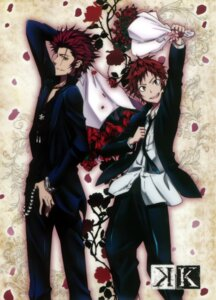 Rating: Safe Score: 6 Tags: k male suou_mikoto tagme yata_misaki User: Radioactive