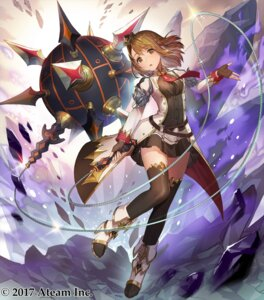 Rating: Safe Score: 64 Tags: heels teffish thighhighs uniform valkyrie_connect weapon User: mash