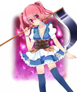Rating: Safe Score: 7 Tags: cleavage japanese_clothes natsumi1995 onozuka_komachi thighhighs touhou User: Radioactive