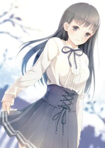 Rating: Safe Score: 48 Tags: dress skirt_lift yoshino_ryou User: Mr_GT