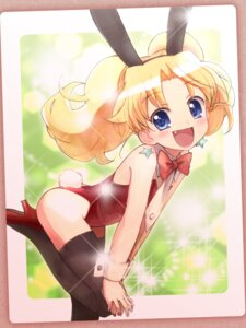 Rating: Questionable Score: 22 Tags: animal_ears bunny_ears bunny_girl jewelpet jewelpet_twinkle miria_marigold_mackenzie nyama tail thighhighs User: cosmic+T5