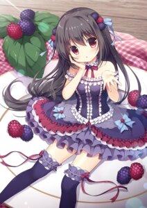 Rating: Safe Score: 35 Tags: blackberry-chan canvas+garden garter gothic_lolita lolita_fashion melonbooks miyasaka_nako tagme thighhighs User: lightsnow