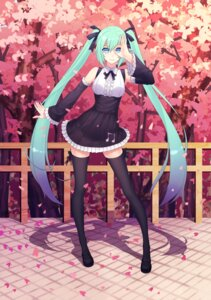 Rating: Safe Score: 51 Tags: gothic_lolita hatsune_miku lolita_fashion thank_star thighhighs vocaloid User: Mr_GT