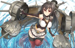 Rating: Safe Score: 30 Tags: akizone cleavage kantai_collection nagato_(kancolle) stockings thighhighs User: Mr_GT