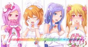 Rating: Safe Score: 29 Tags: aono_miki chobipero cleavage dress fresh_pretty_cure! higashi_setsuna momozono_love pretty_cure wedding_dress yamabuki_inori User: Nekotsúh