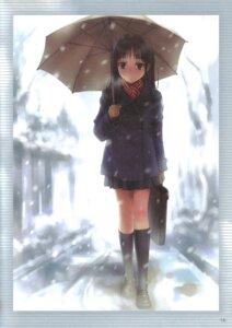 Rating: Safe Score: 19 Tags: goto-p seifuku umbrella User: Radioactive