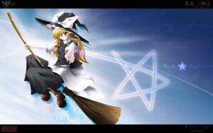 Rating: Safe Score: 3 Tags: kirisame_marisa side_b touhou wallpaper witch User: Shamensyth