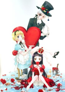 Rating: Safe Score: 19 Tags: alice alice_in_wonderland lolita_fashion minakami_kaori wet_clothes User: Davison