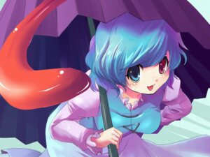 Rating: Safe Score: 8 Tags: heterochromia kobanzame tatara_kogasa touhou wallpaper User: kkendd