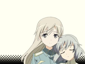 Rating: Safe Score: 12 Tags: eila_ilmatar_juutilainen sanya_v_litvyak strike_witches vector_trace User: admin2