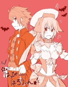 Rating: Safe Score: 9 Tags: cleavage dress fate/apocrypha fate/stay_night halloween jeanne_d'arc jeanne_d'arc_(fate) nyorotono sieg_(fate/apocrypha) User: shevchenko