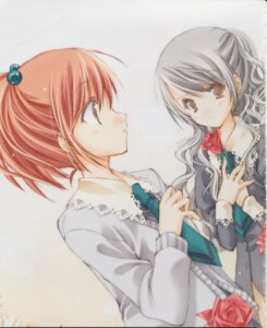 Rating: Safe Score: 8 Tags: aoi_nagisa hanazono_shizuma maki_chitose strawberry_panic User: Juhachi